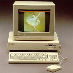 The original Amiga 1000 from 1985